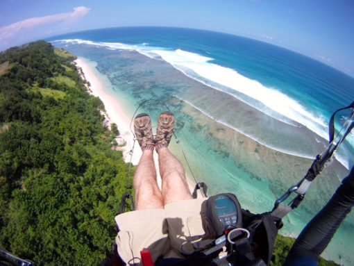 Paragliding in Bali