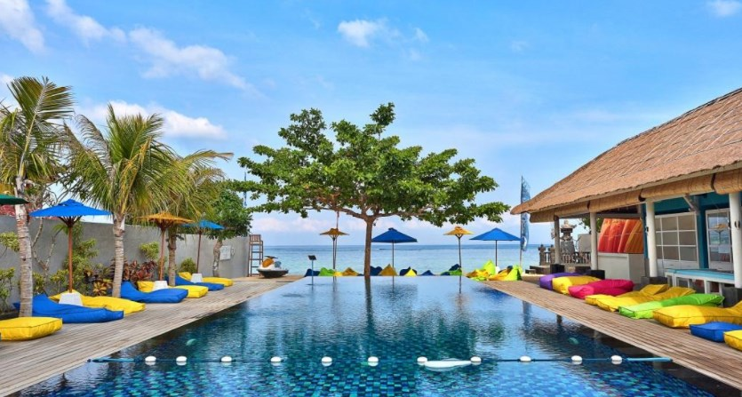 Bali equator beach club