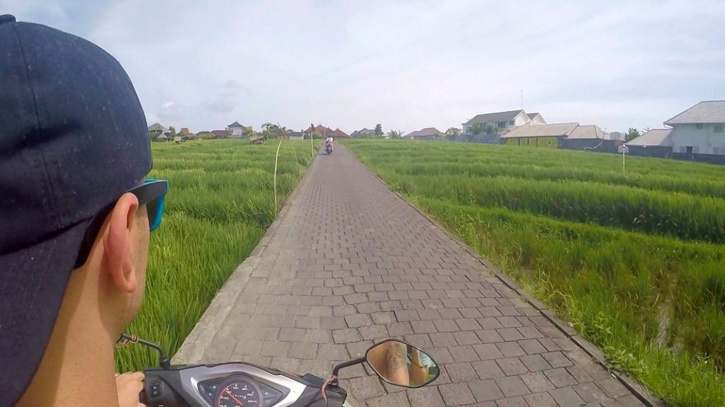 bali destinations; Canggu's Shortcut