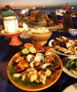 Dinner in Jimbaran