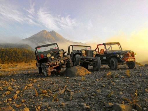 what to do in Yogyakarta; Merapi Jeep Tour