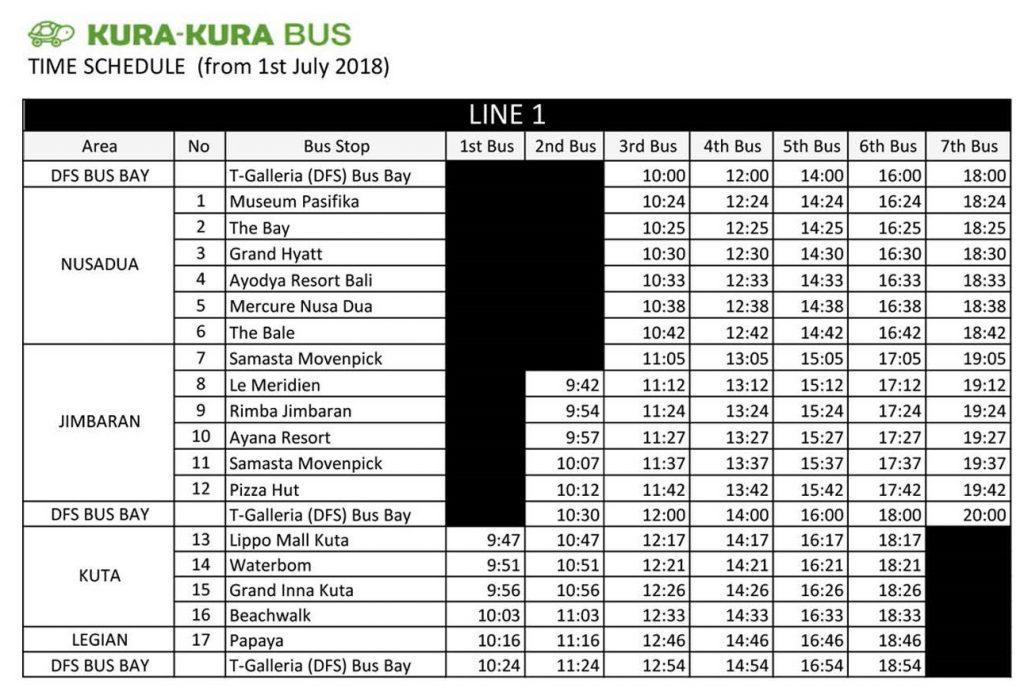 Bali Kura Kura Bus