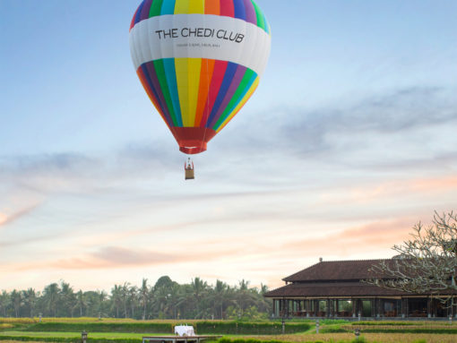 The Chedi Club Hot Air Balloon - Source: ghmhotels.com