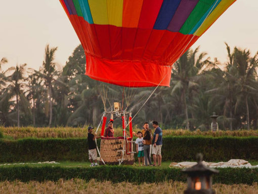 bali hot air balloon
