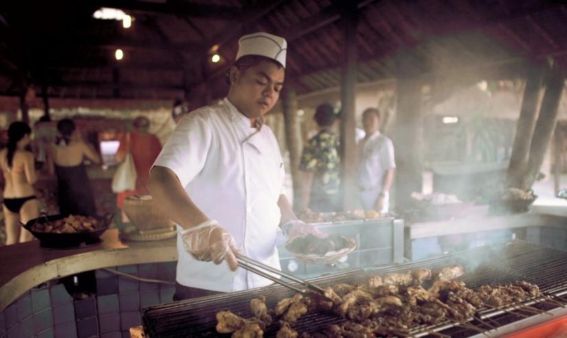 BBQ Lunch Bali Hai