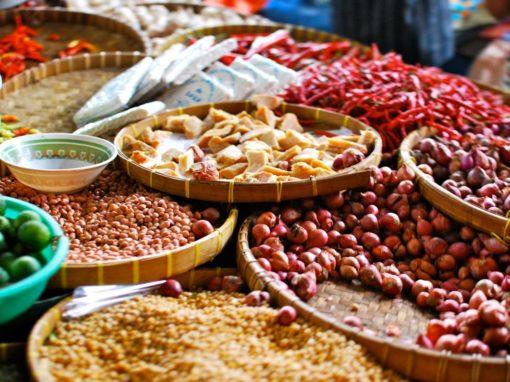 Lendang Bajur Traditional Market