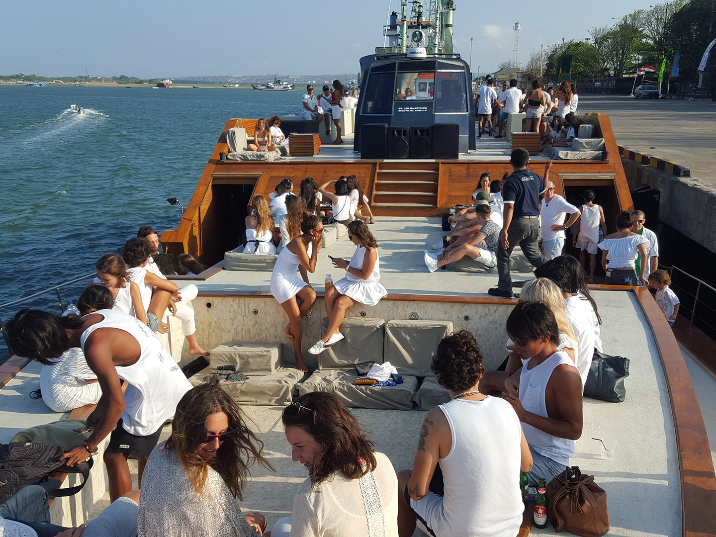 Ocean White Party on Cruise