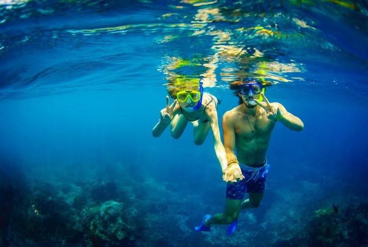 Snorkeling Bali Hai