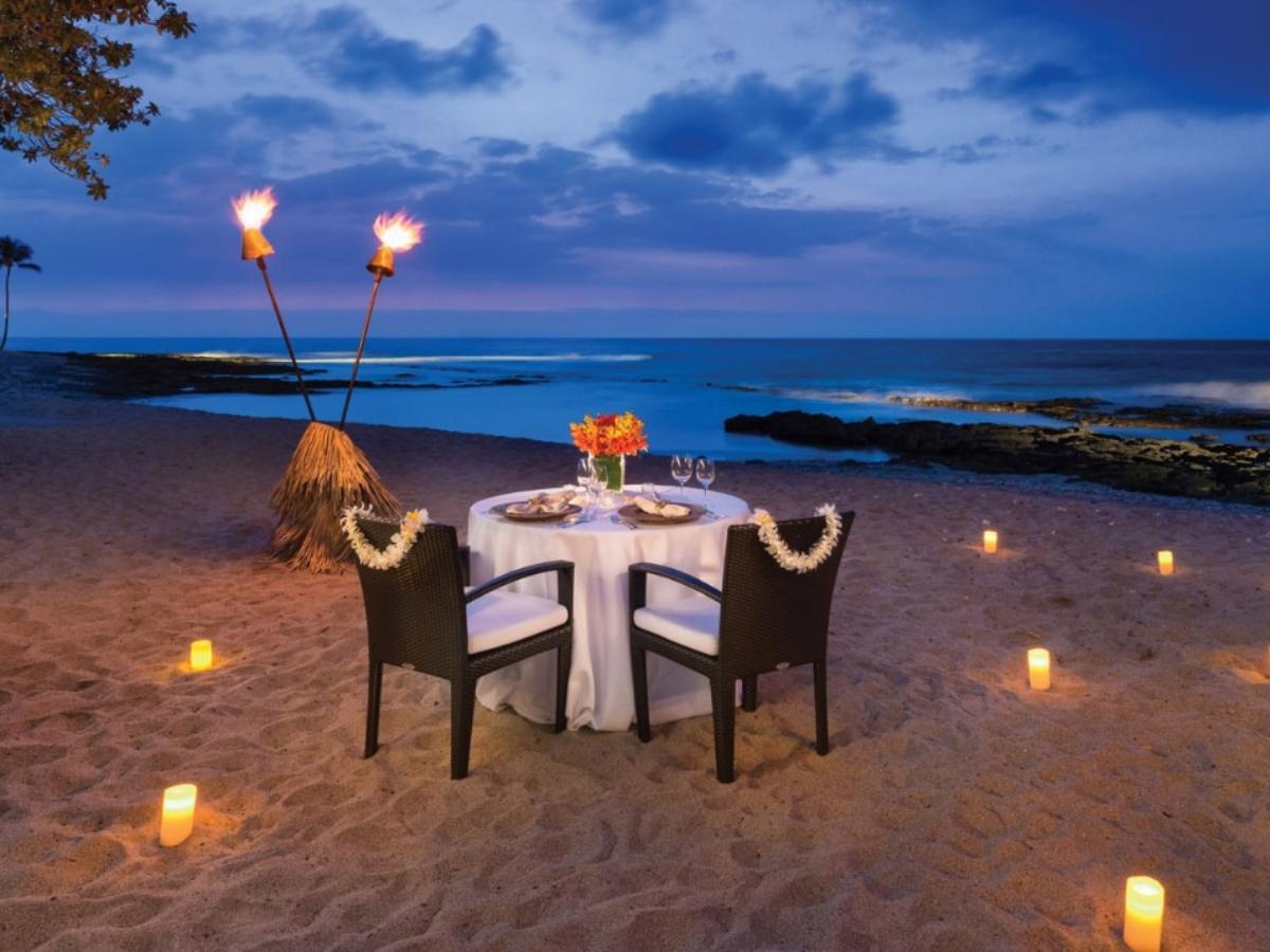 Romantic Candle Light Dinner In Jimbaran Bay Bali Wandernesia