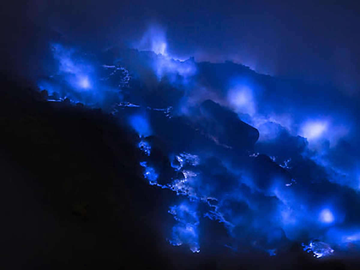 Blue Fire Mount Ijen