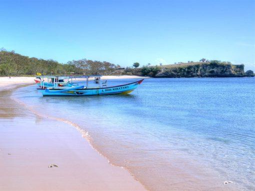 Pink Beach 2 in Lombok