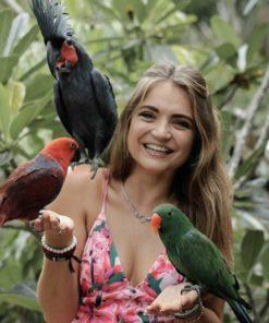 photo with birds