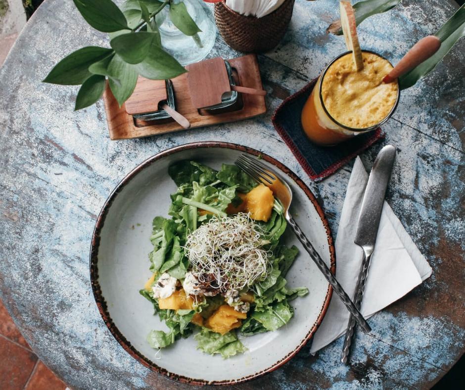 Breakfast at Ubud Gluten Free Kitchen