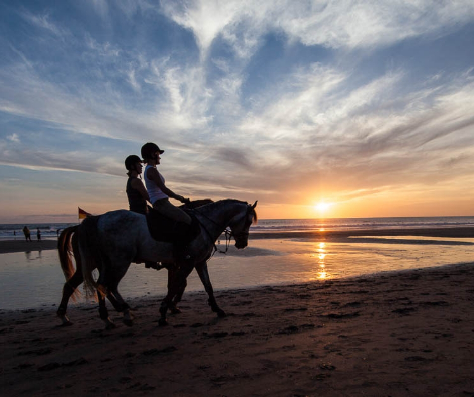 Horse Ride On Seminyak Beach