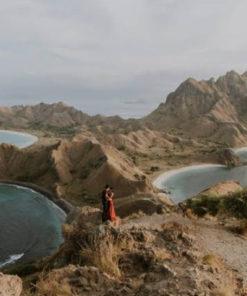 Padar Island by firewoodandearth