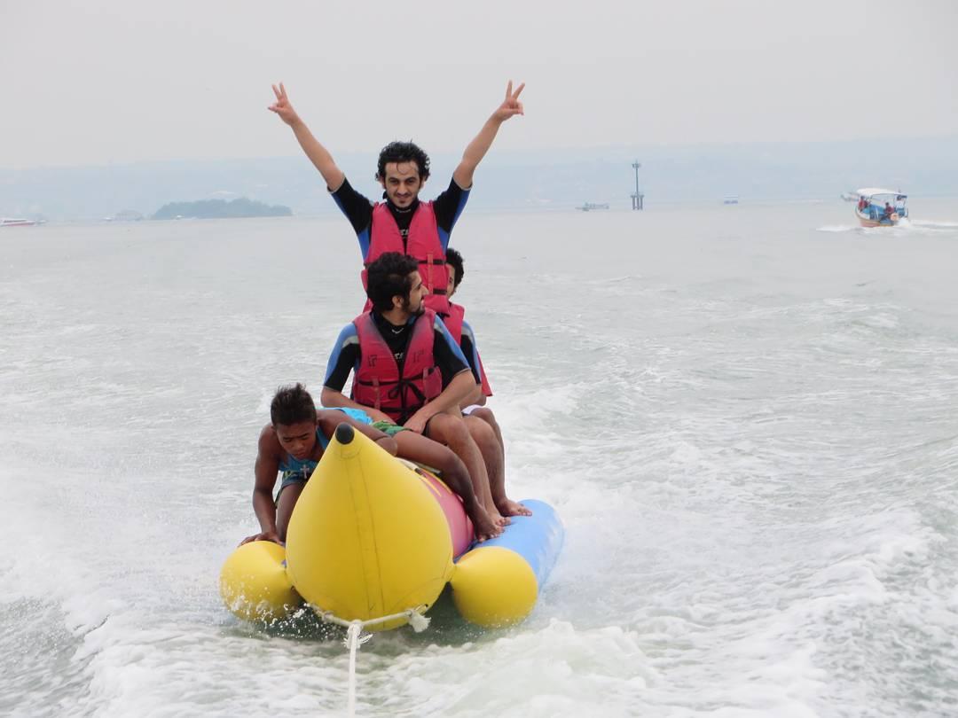 Water Sports in Bali; Banana Boat