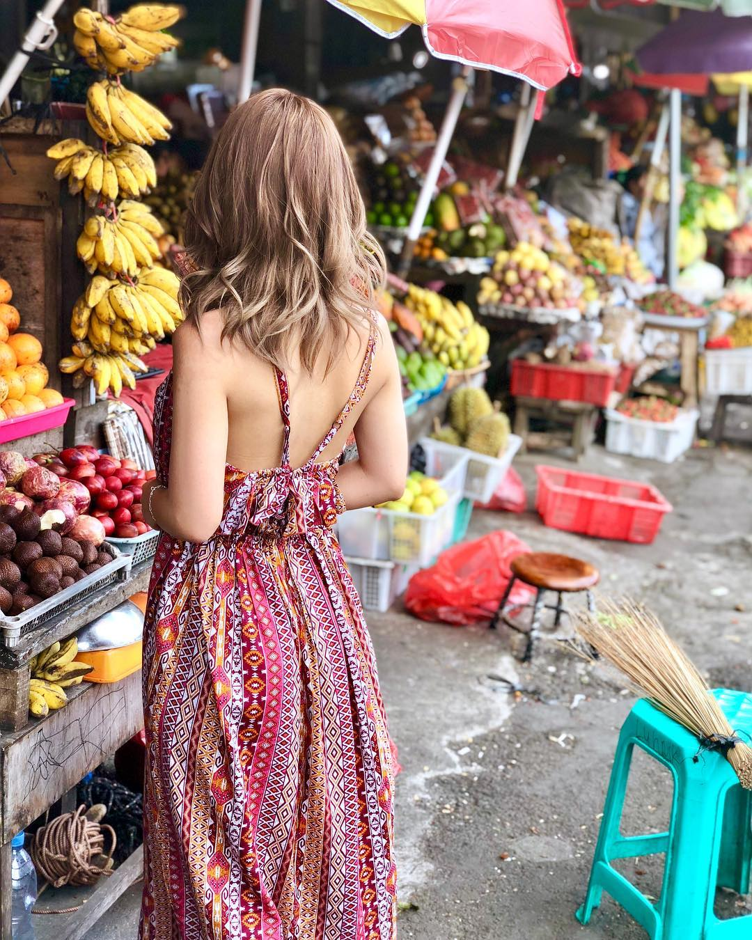 Markets in Bali; Candi Kuning Market