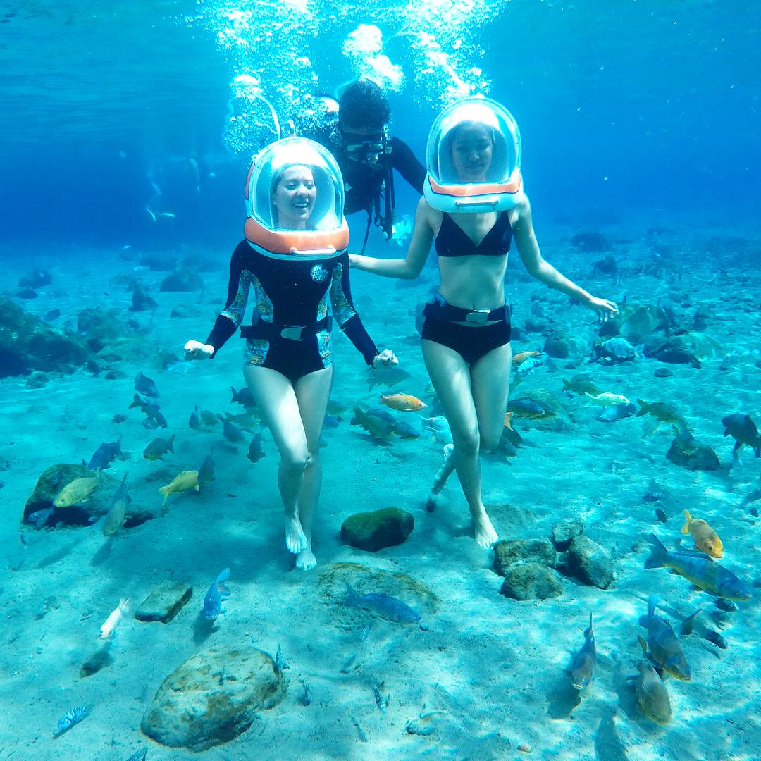 Water Sports in Bali; Sea Walker