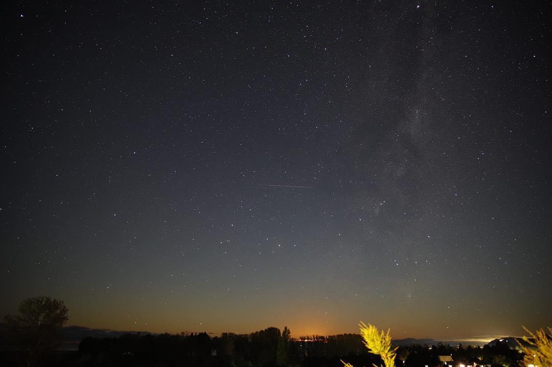 Bali Silent Day; Starry Night Sky