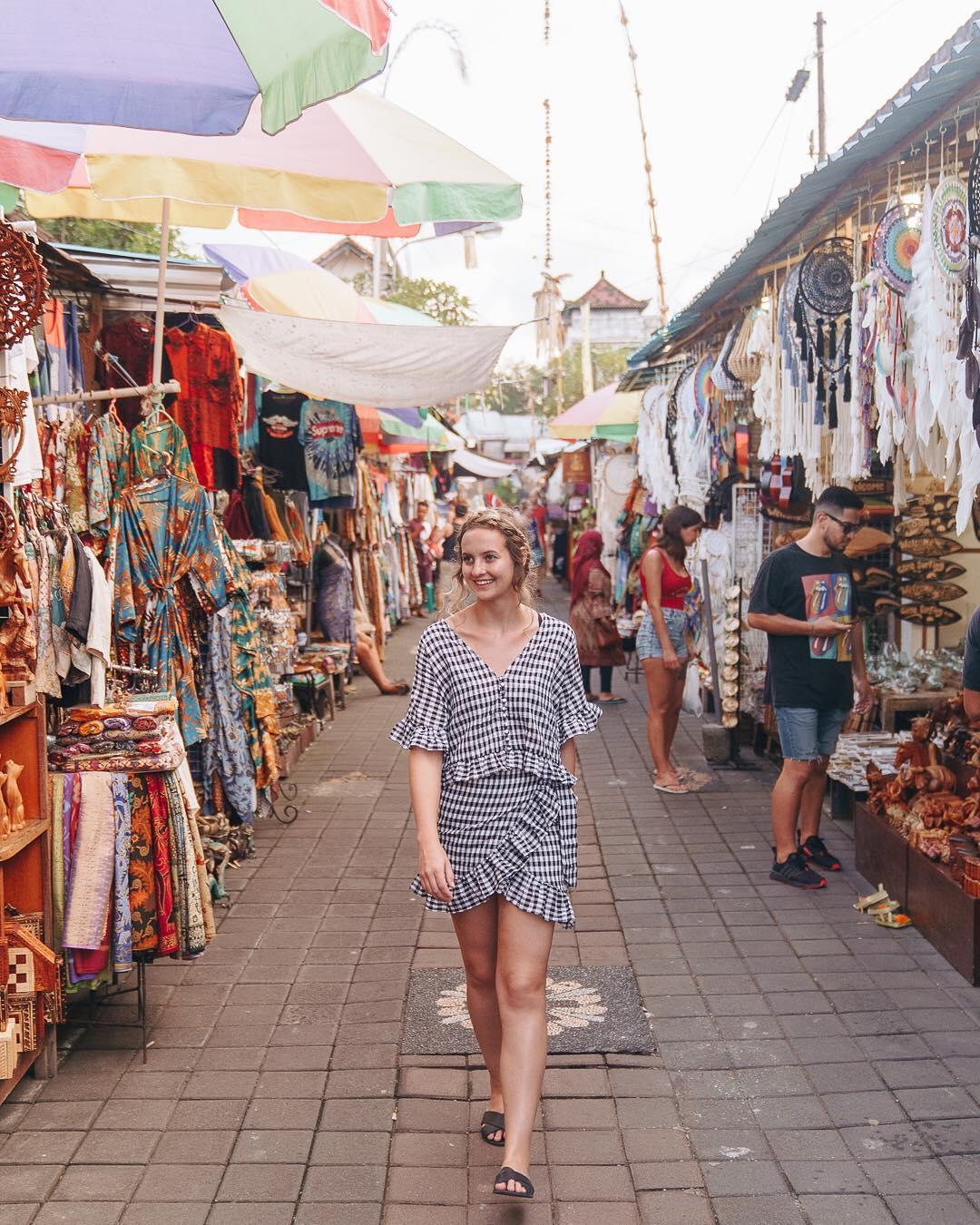Markets in Bali; Ubud Market
