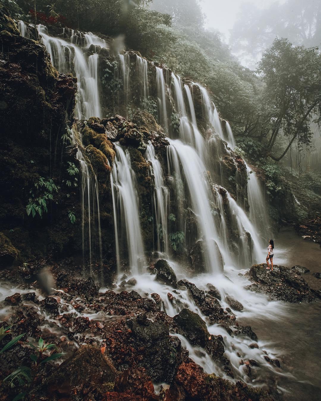 Waterfalls in Bali; Bhuana Sari Waterfall