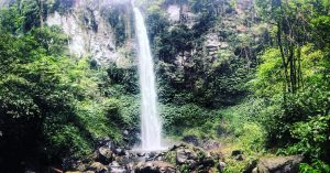 Waterfalls in Bali; Blahmantung Waterfall