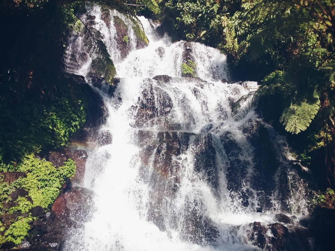 Waterfalls in Bali; Jembong Waterfall