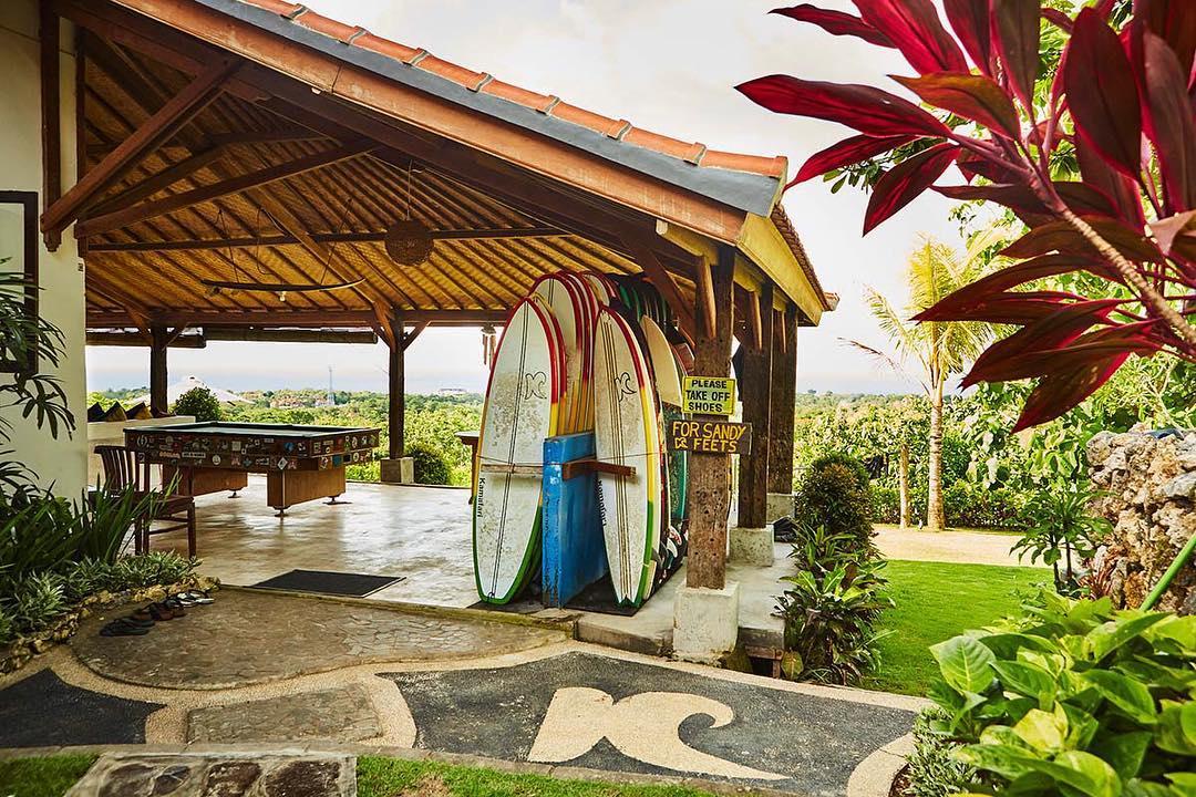Surf School in Bali; Kamafari Surf Camp