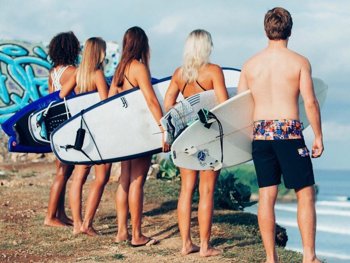 Surf School in Bali; Kima Surf