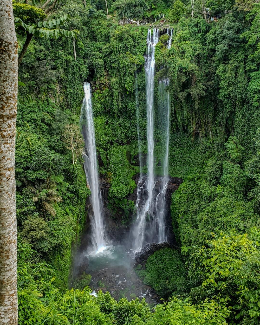 Waterfalls in Bali; Sekumpul Waterfall
