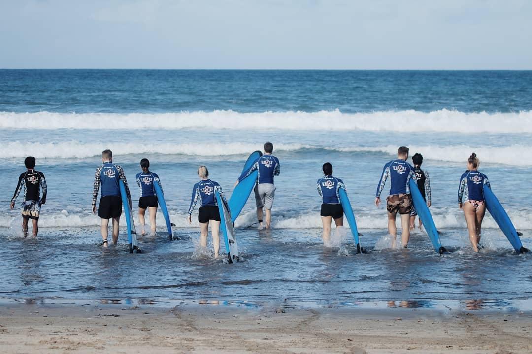 Surf School in Bali; UP2U Surf School Bali