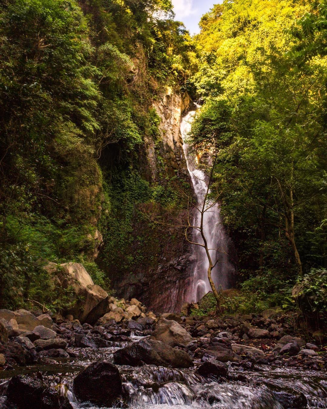 Waterfalls in Bali; Yeh Mampeh Waterfall