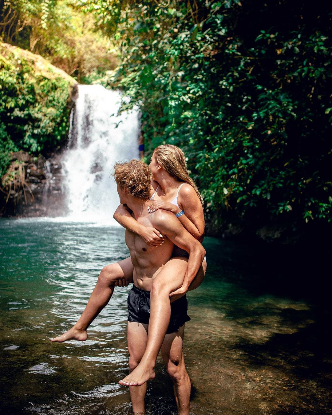 What to See in Bali; Aling Aling Waterfall