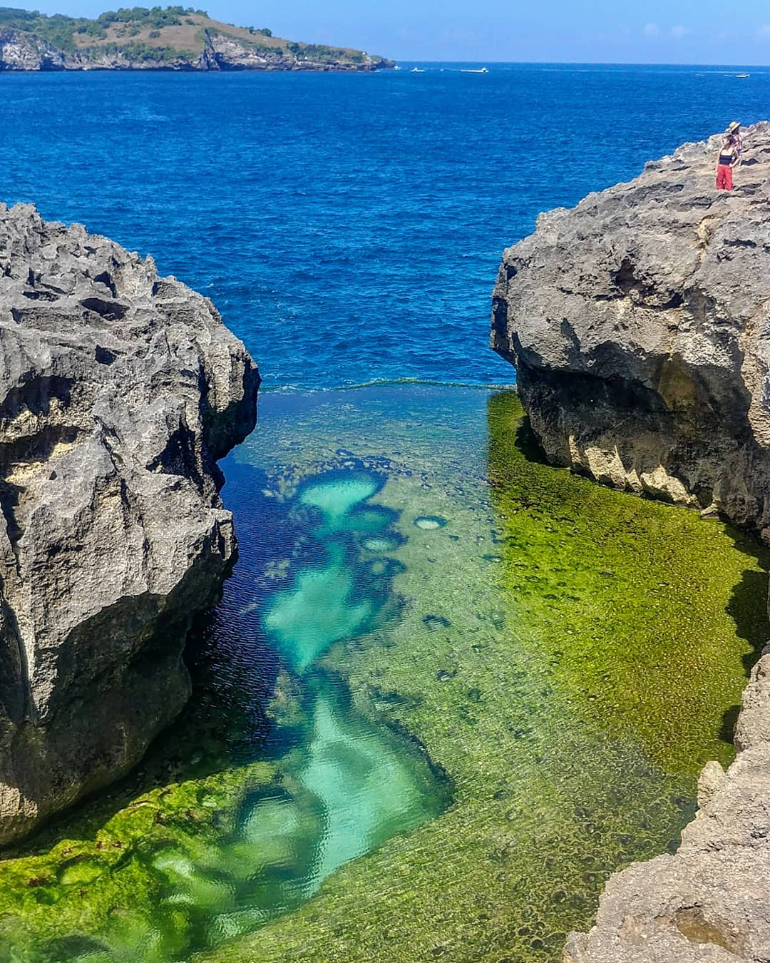Places to See in Bali; Angel's Billabong