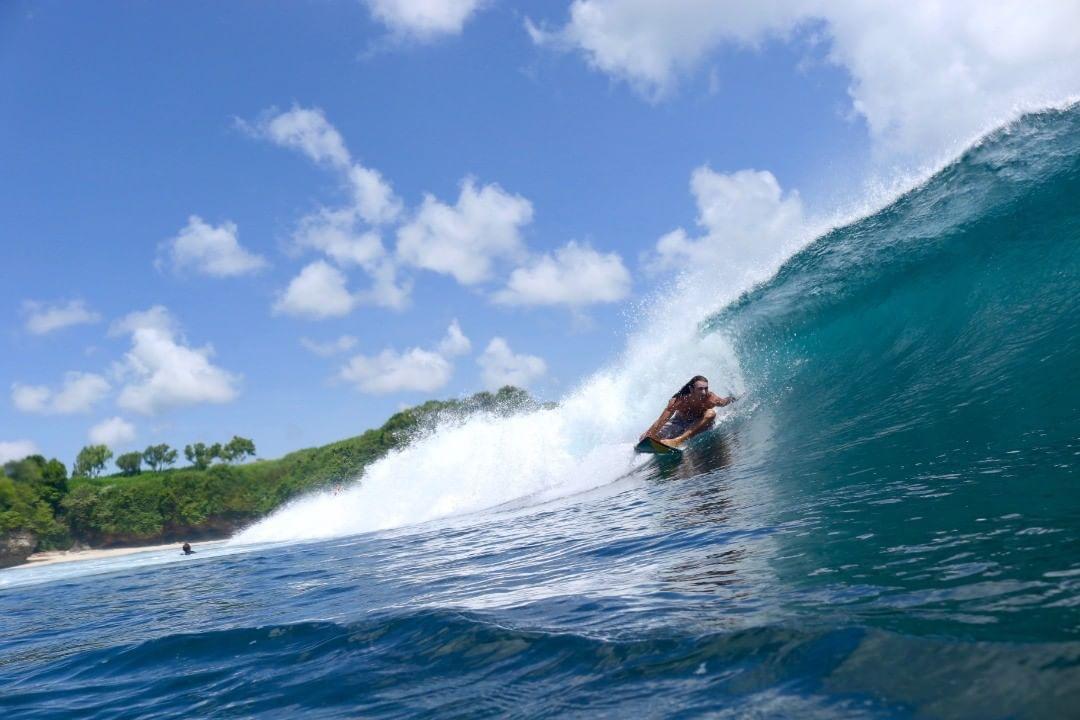 Beaches in Bali; Balangan Beach