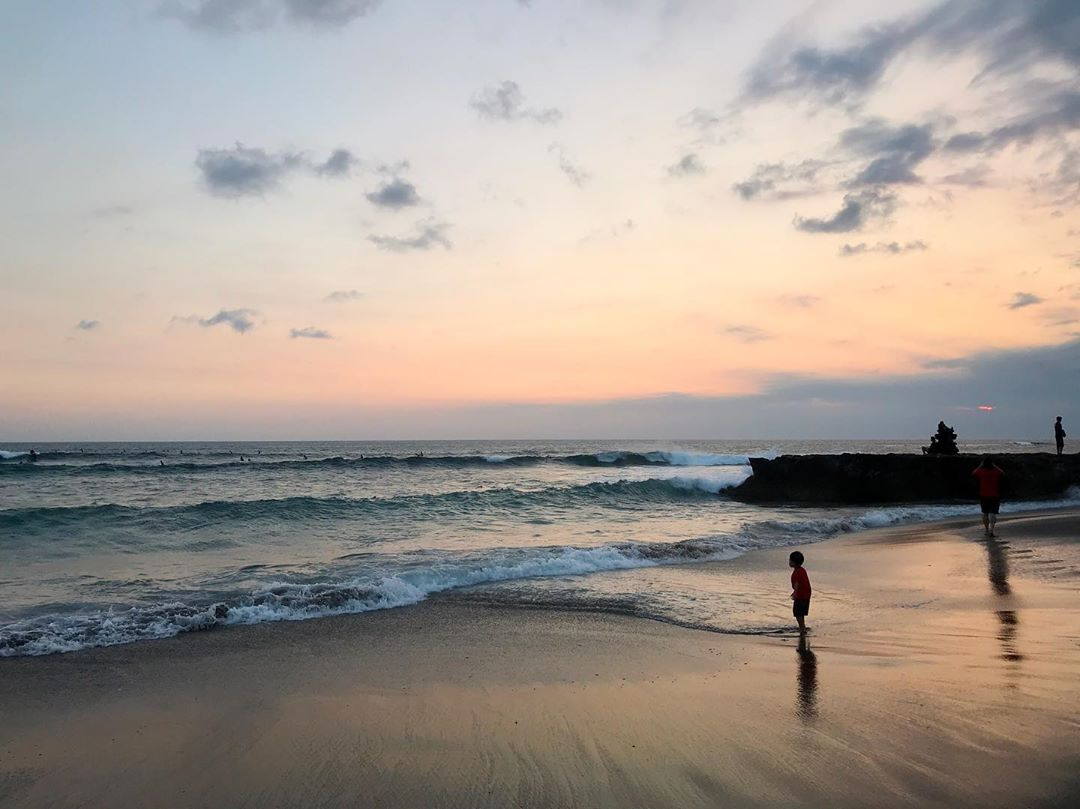 Places to See in Bali; Canggu Beach