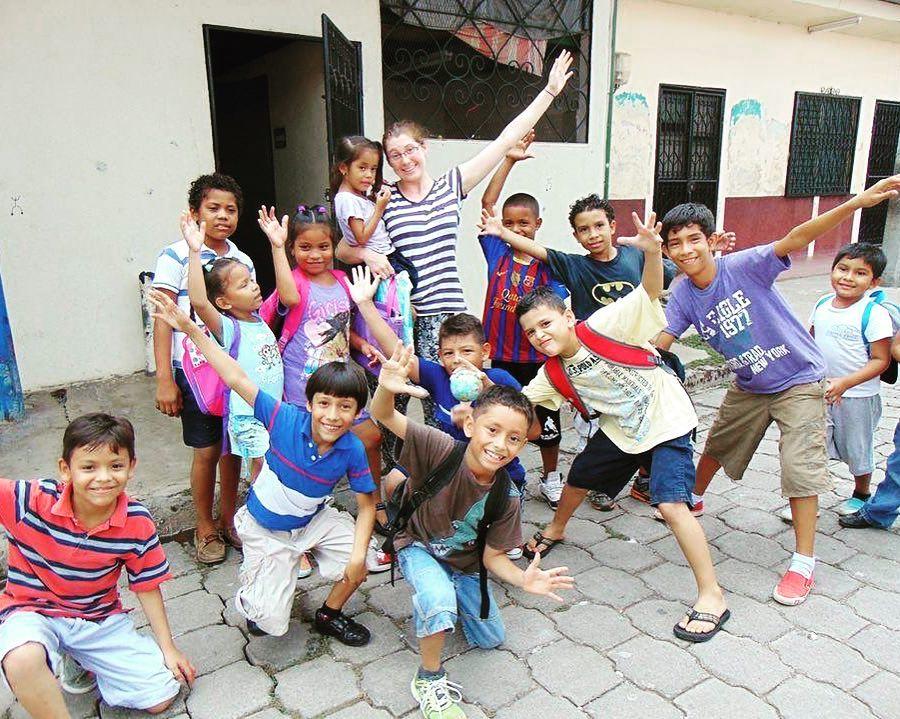Volunteers in Bali; ELI Board