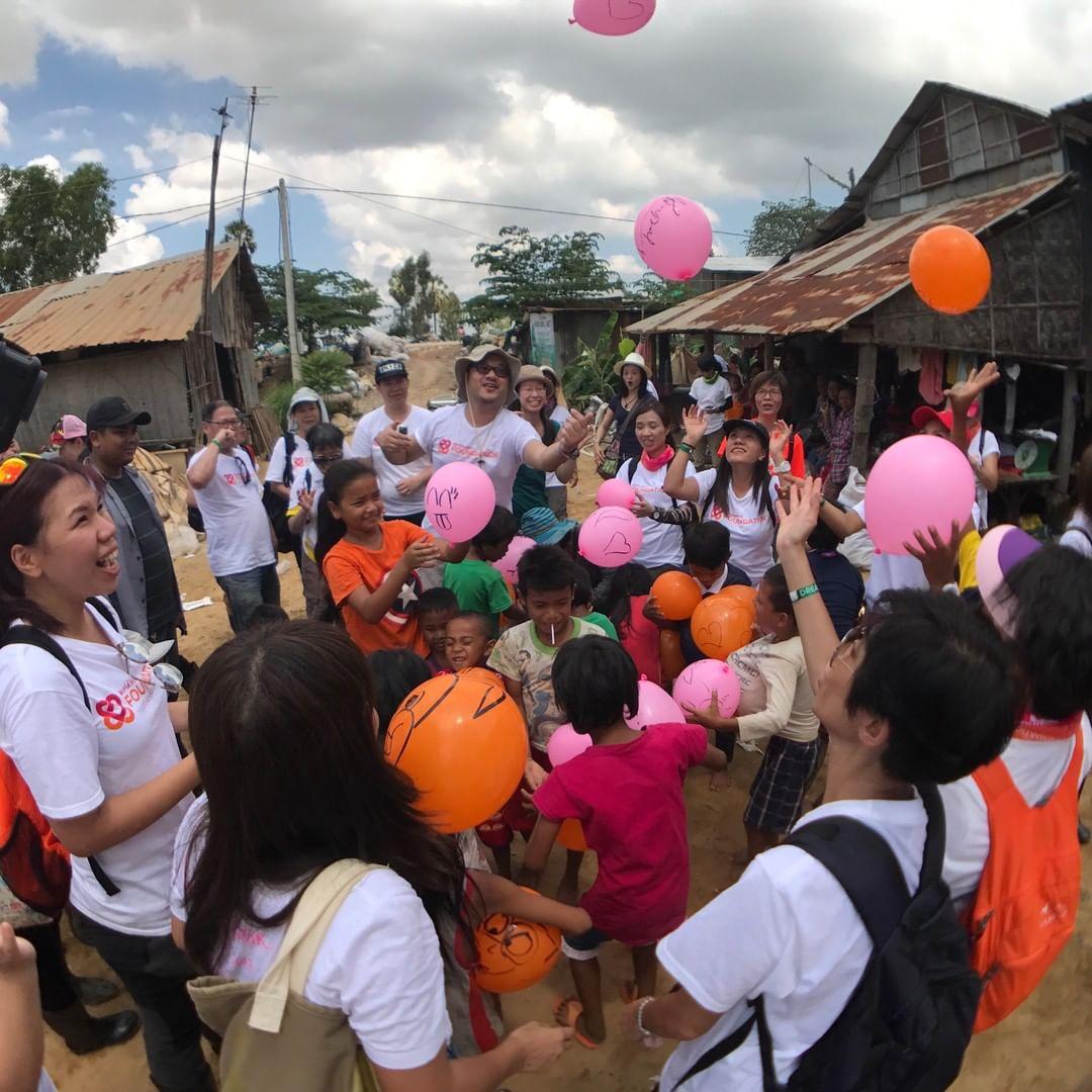 Volunteers in Bali; Friends for Asia
