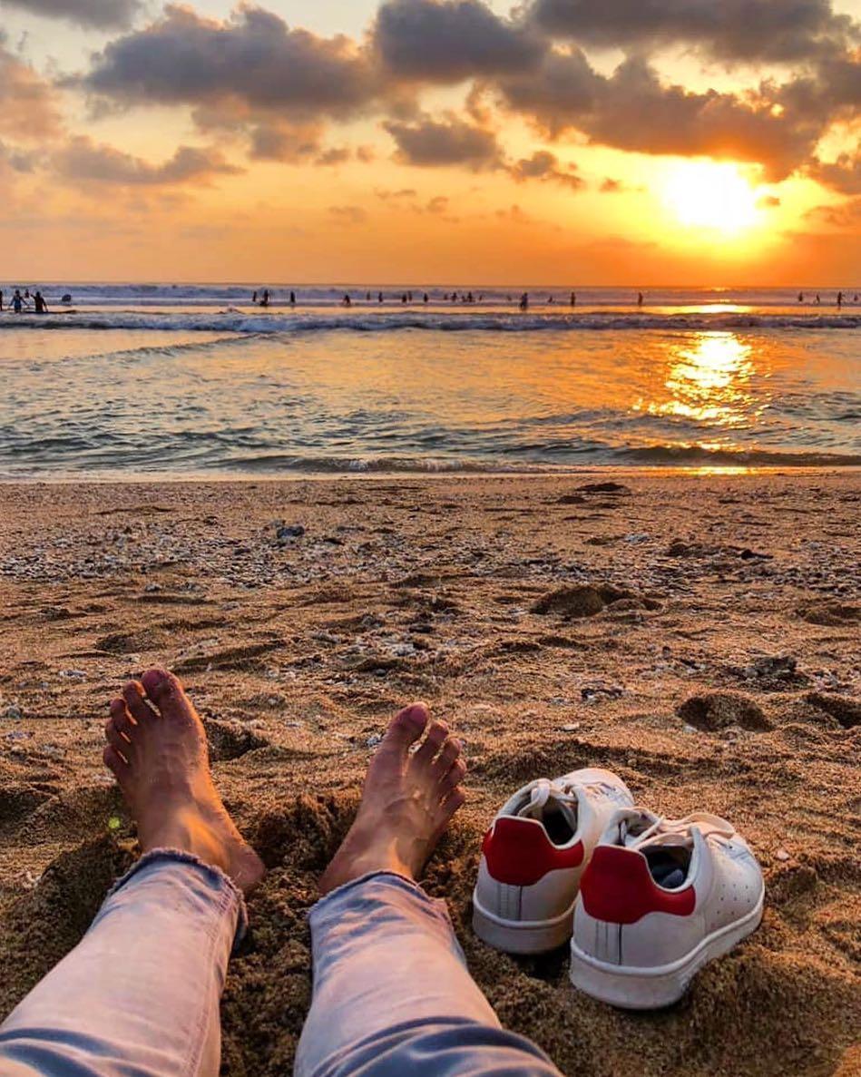 Bali Airport; Kuta Beach