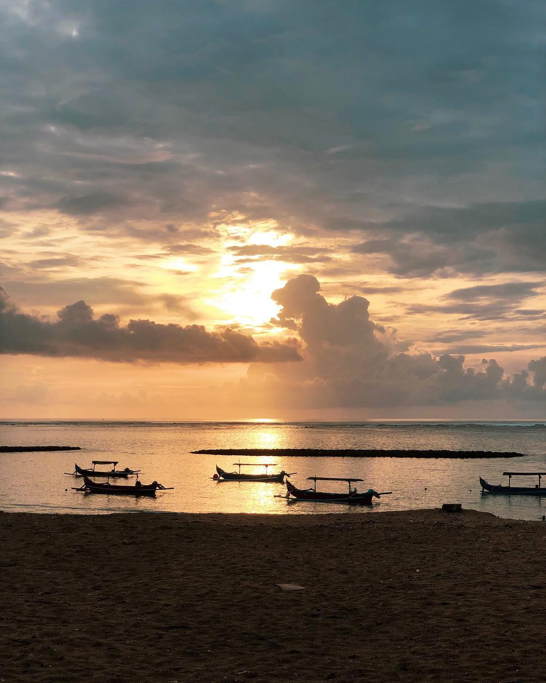 Beaches in Bali; Kuta Beach