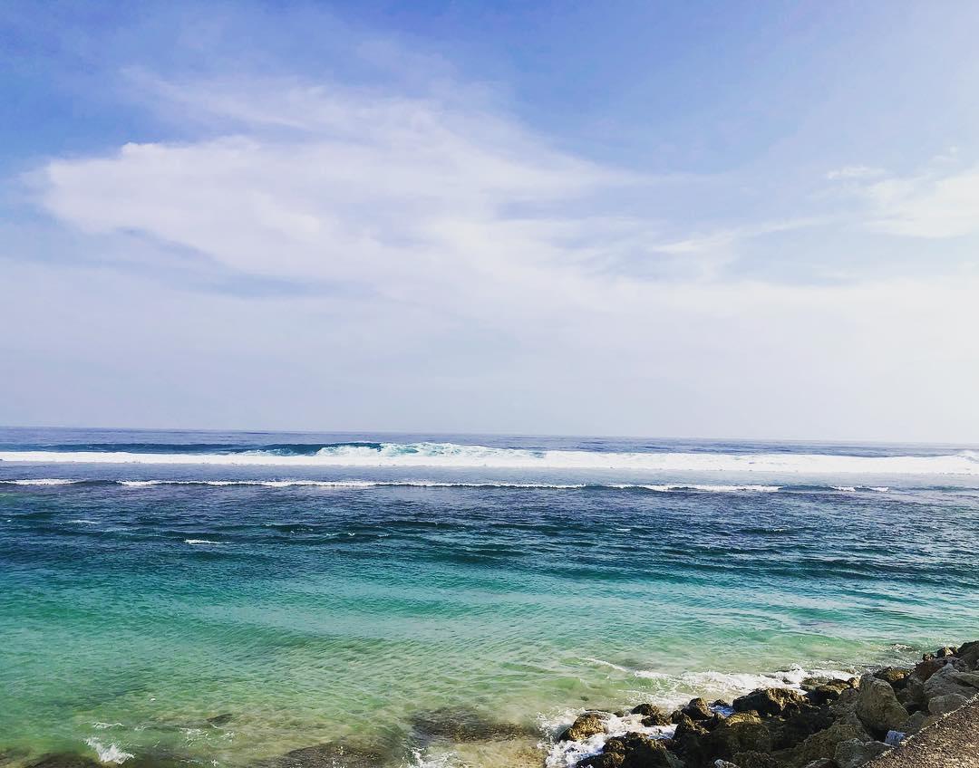 Beaches in Bali; Melasti Beach