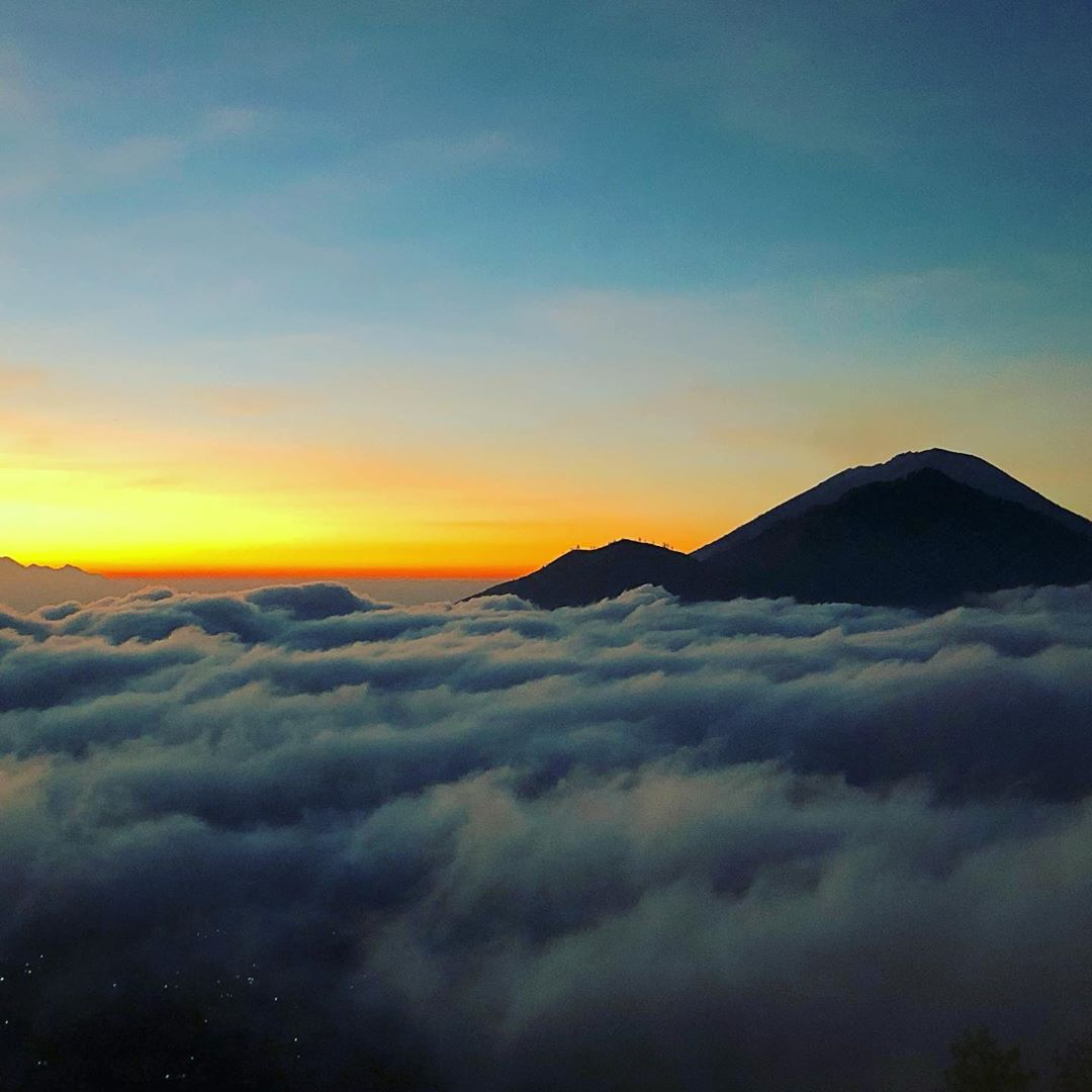 Places to See in Bali; Mount Batur