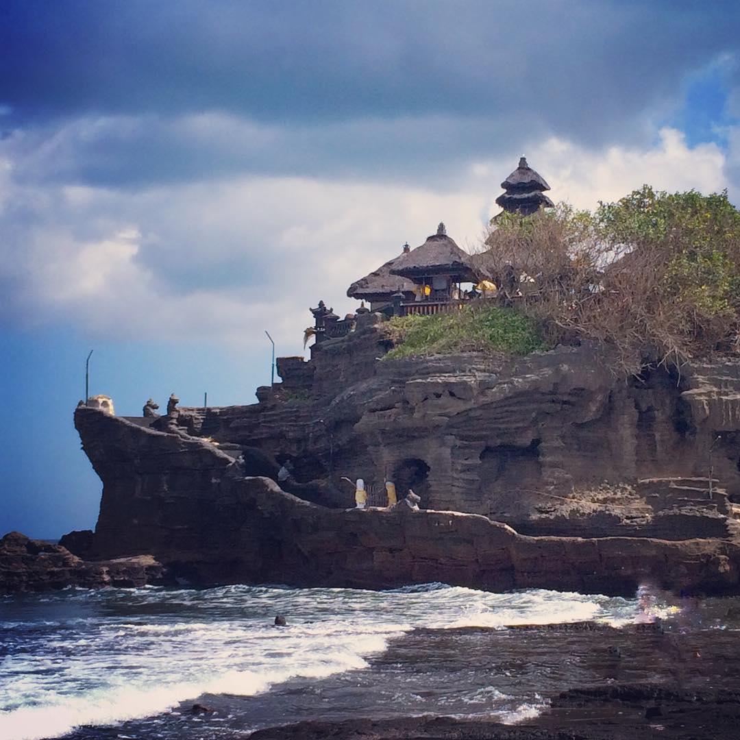 Temples in bali; Pura Tanah Lot