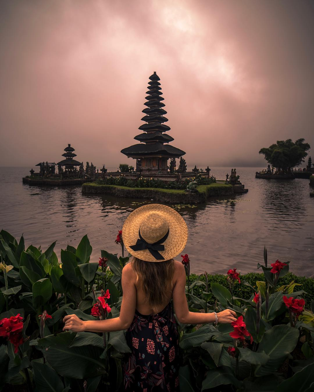 Temples in Bali; Pura Ulun Danu Beratan