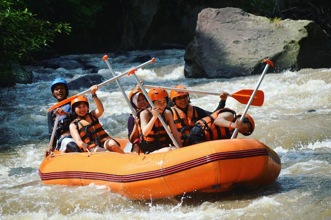 Activities in Bali; Rafting