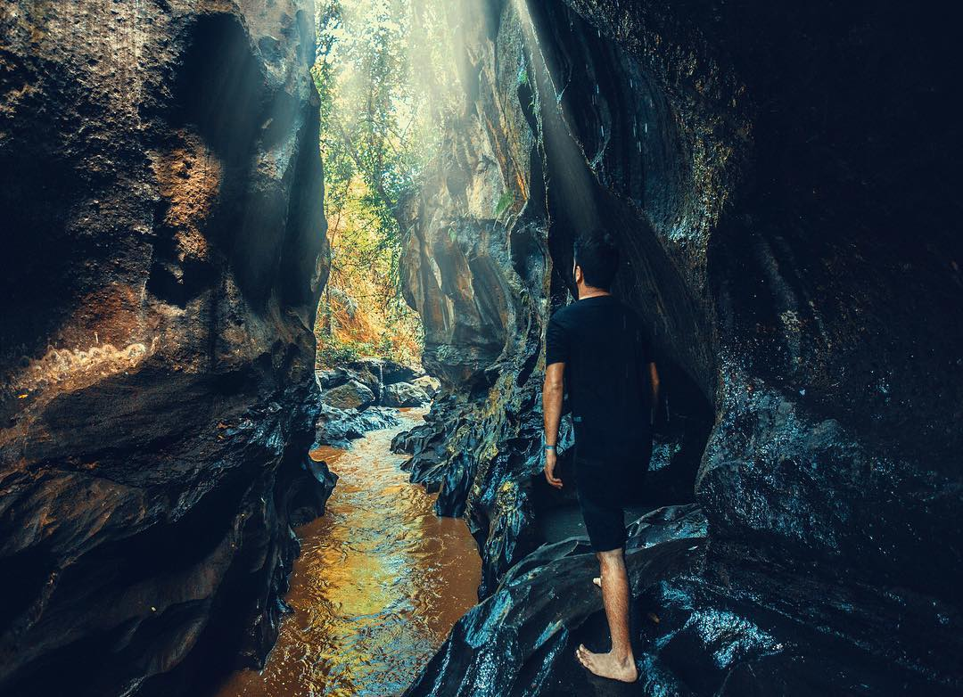 Places to See in Bali; Secret Canyon Sukawati