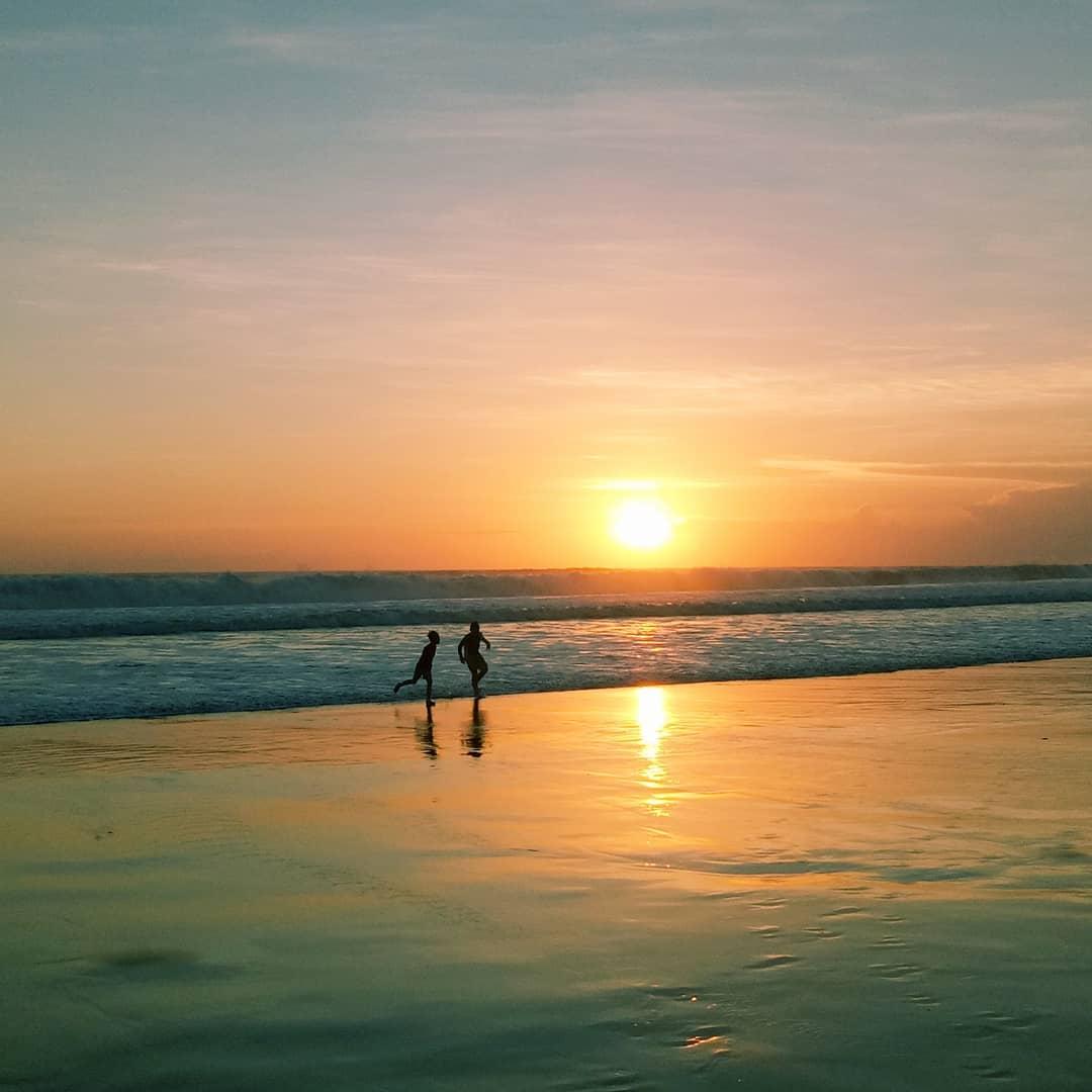 Beaches in Bali; Seminyak Beach