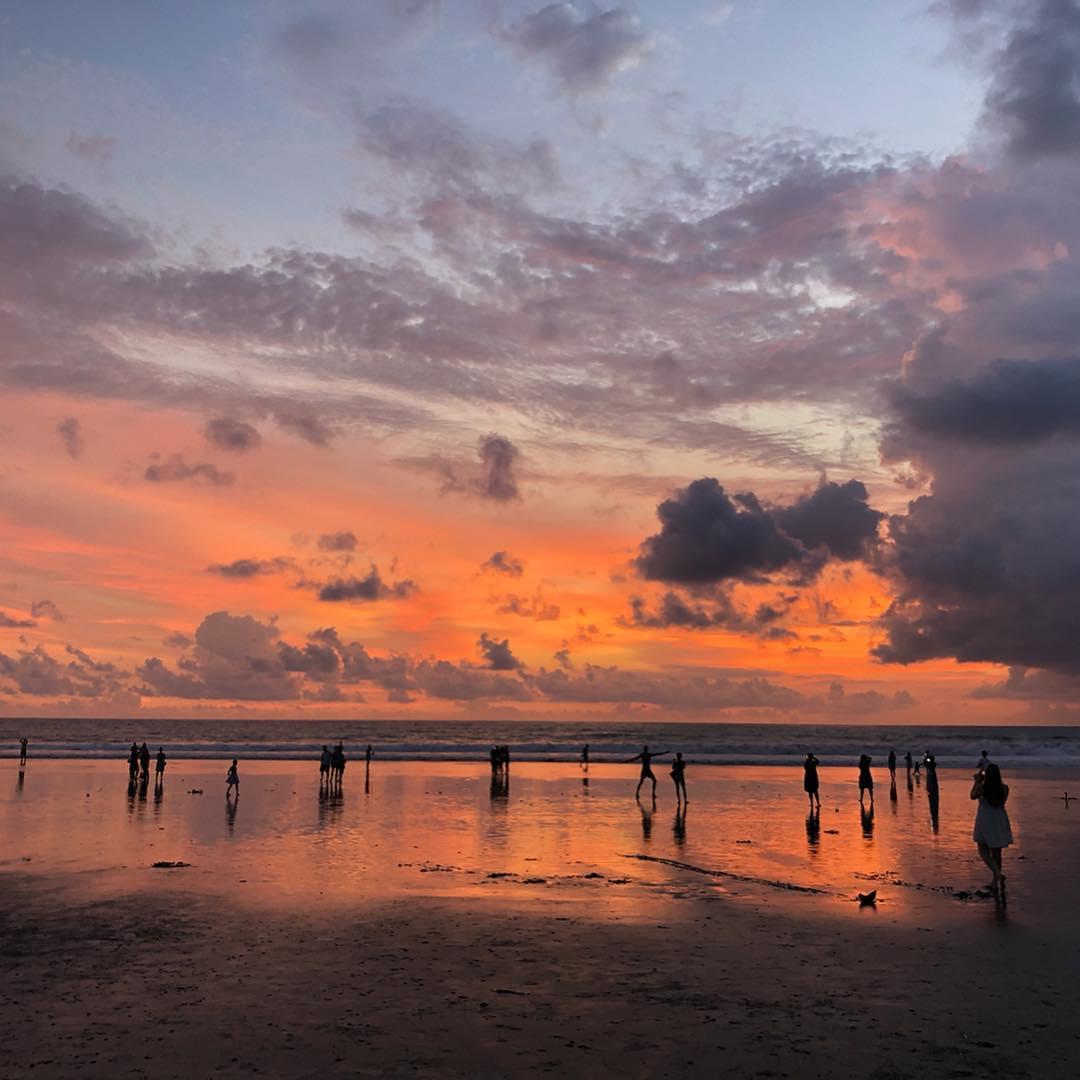 Places to See in Bali; Seminyak Beach