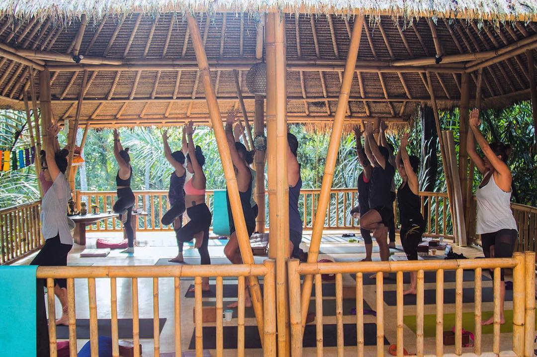 Yoga Retreat in Bali; Shanti Toya Ashram