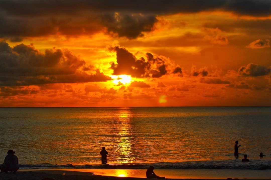 Activities in Bali; Sunset in Kuta